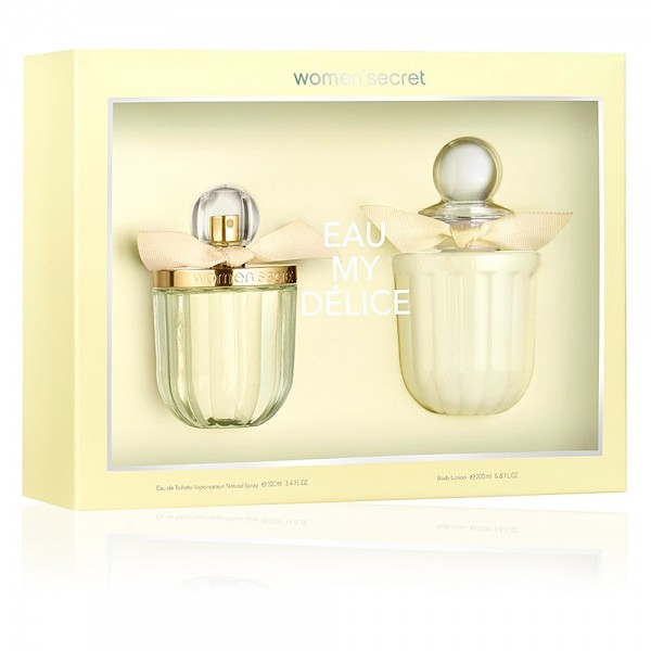 WOMAN SECRET  Set EDT MY DELICE 100 ml + Body Lotion 200  ml