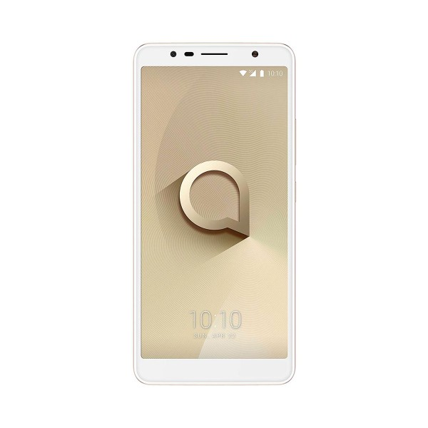 Alcatel 3c oro metálico móvil 3g dual sim 6.0'' ips hd+/4core/16gb/1gb ram/13mp/8mp